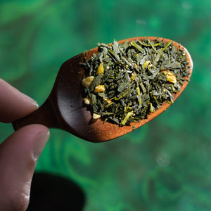 Organic Sencha <br> with Yuzu 柚子煎茶 <br> *Limited Edition*