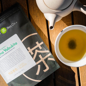 Enjoy organic Japanese green tea by Mizuba Tea Co.
