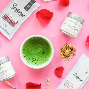 Matcha Green Tea  Valentine Gift Set