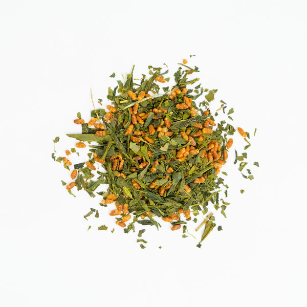 Organic Genmaicha Loose Leaf Tea