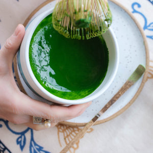 Learn how to make matcha green tea the traditional way!