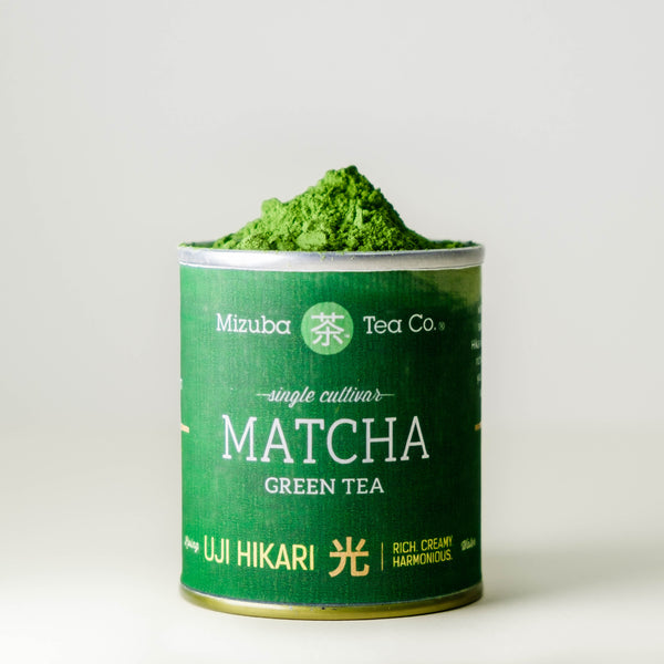 Single Cultivar Uji Hikari Matcha Green Tea by Mizuba Tea Co.