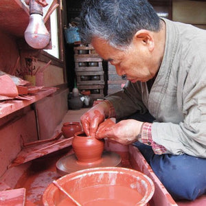 Tokoname ceramics at Mizuba Tea