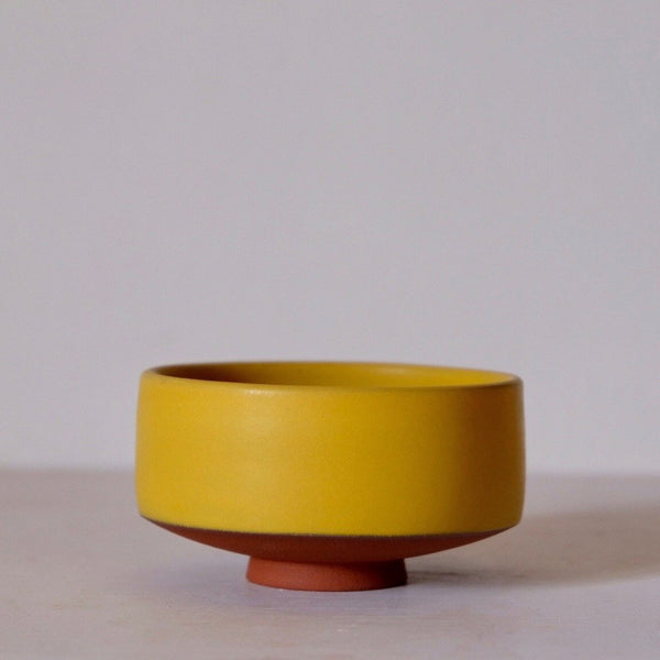 Golden Sun Chawan Tea Bowl for Matcha Tea