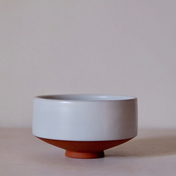 Pure White Chawan for Matcha Green Tea