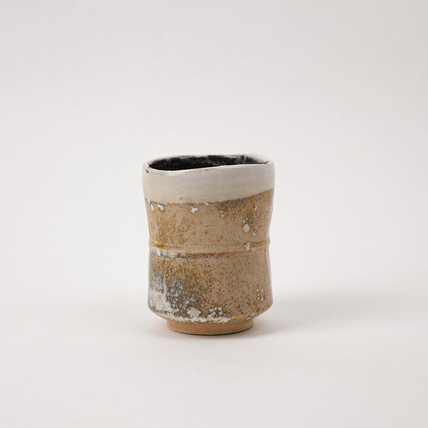 Shinoware Japanese Yunomi tea cup
