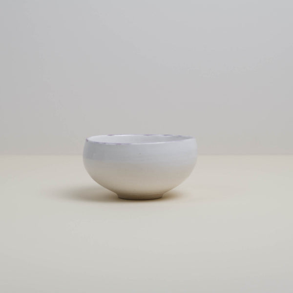 Ceremonial Matcha Chawan Tea Bowl with Blushing Rim