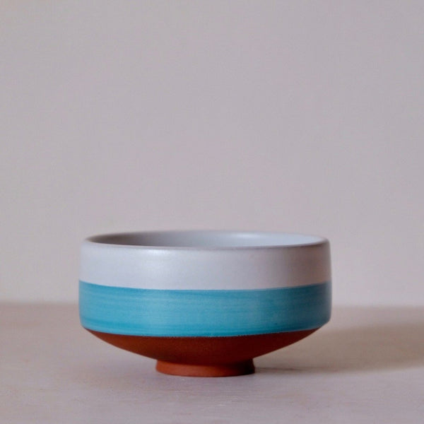 Ocean Horizon Chawan for Matcha Green Tea
