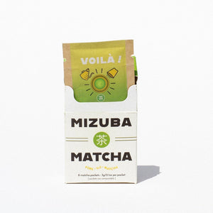 Voilà! Travel Mizuba Matcha Eco Single-Serve Packs