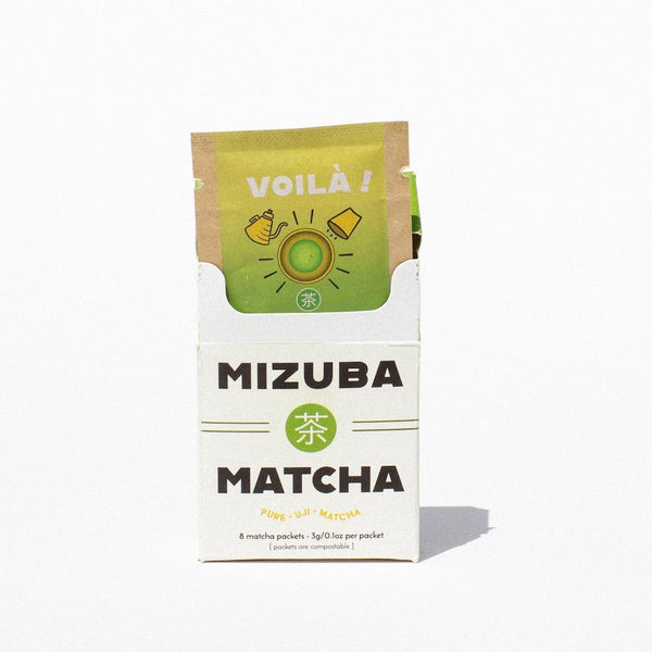 Voilà! Travel Mizuba Matcha || Eco Single-Serve Packs.