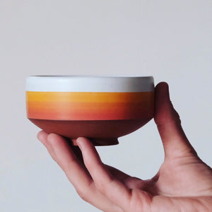 Sunset Horizon Chawan for Matcha Green Tea
