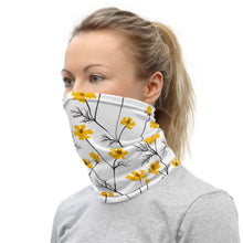 Load image into Gallery viewer, Spring Yellow Neck Gaiter