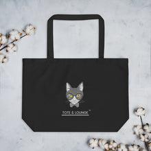 Load image into Gallery viewer, Mr. B's Large Organic tote bag