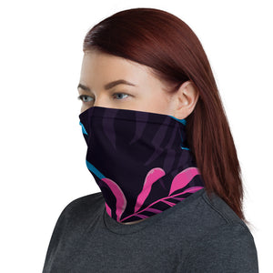 Multi Pink Palm Neck Gaiter