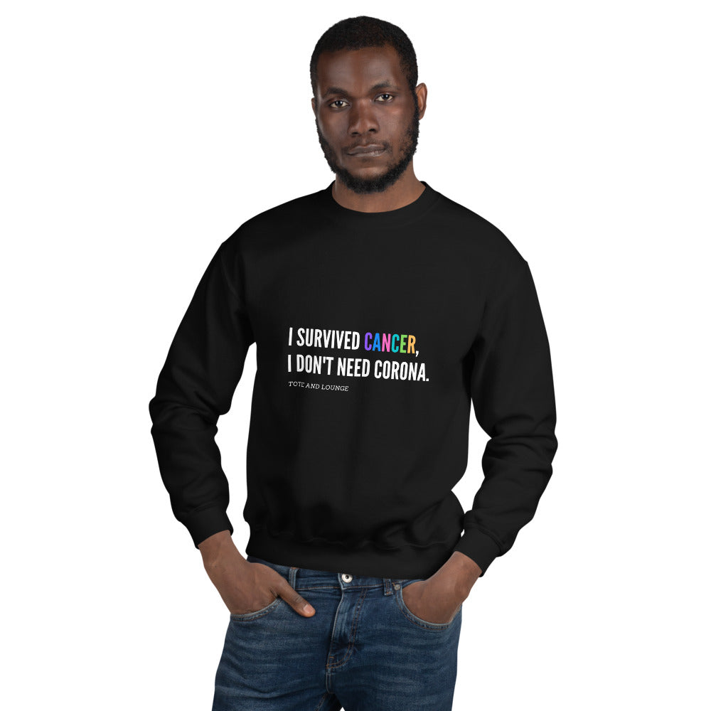 I Survived Unisex Sweatshirt