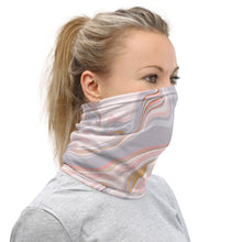 Load image into Gallery viewer, Pink Marble Neck Gaiter