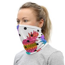 Load image into Gallery viewer, Pineapple Poka Neck Gaiter