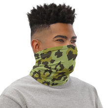 Load image into Gallery viewer, Green Leopard Neck Gaiter