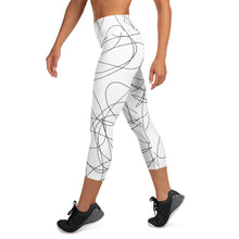 Load image into Gallery viewer, Scribbles Yoga Capri Leggings