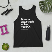 Load image into Gallery viewer, Dreams Unisex Tank Top