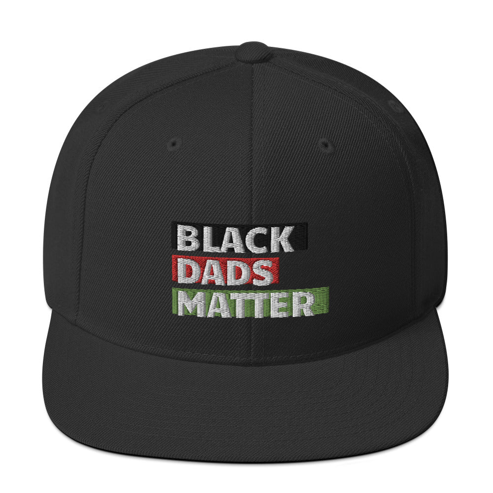 Black Dads Matter Snapback Hat
