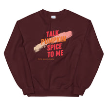 Load image into Gallery viewer, Pumpkin Spice Talk Unisex Sweatshirt