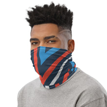 Load image into Gallery viewer, Abstract V Stripe Neck Gaiter