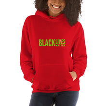 Load image into Gallery viewer, Black Lives Matter Holiday Unisex Hoodie