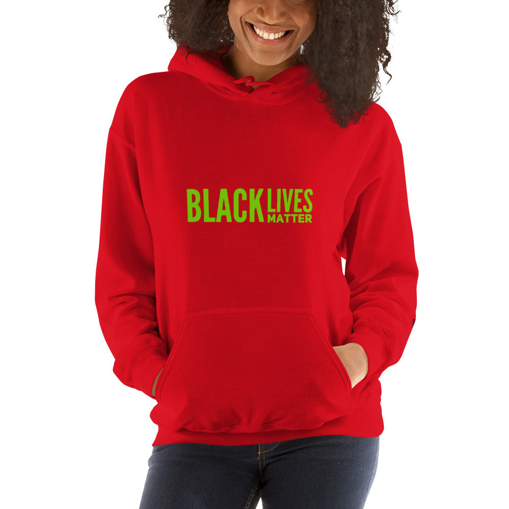 Black Lives Matter Holiday Unisex Hoodie