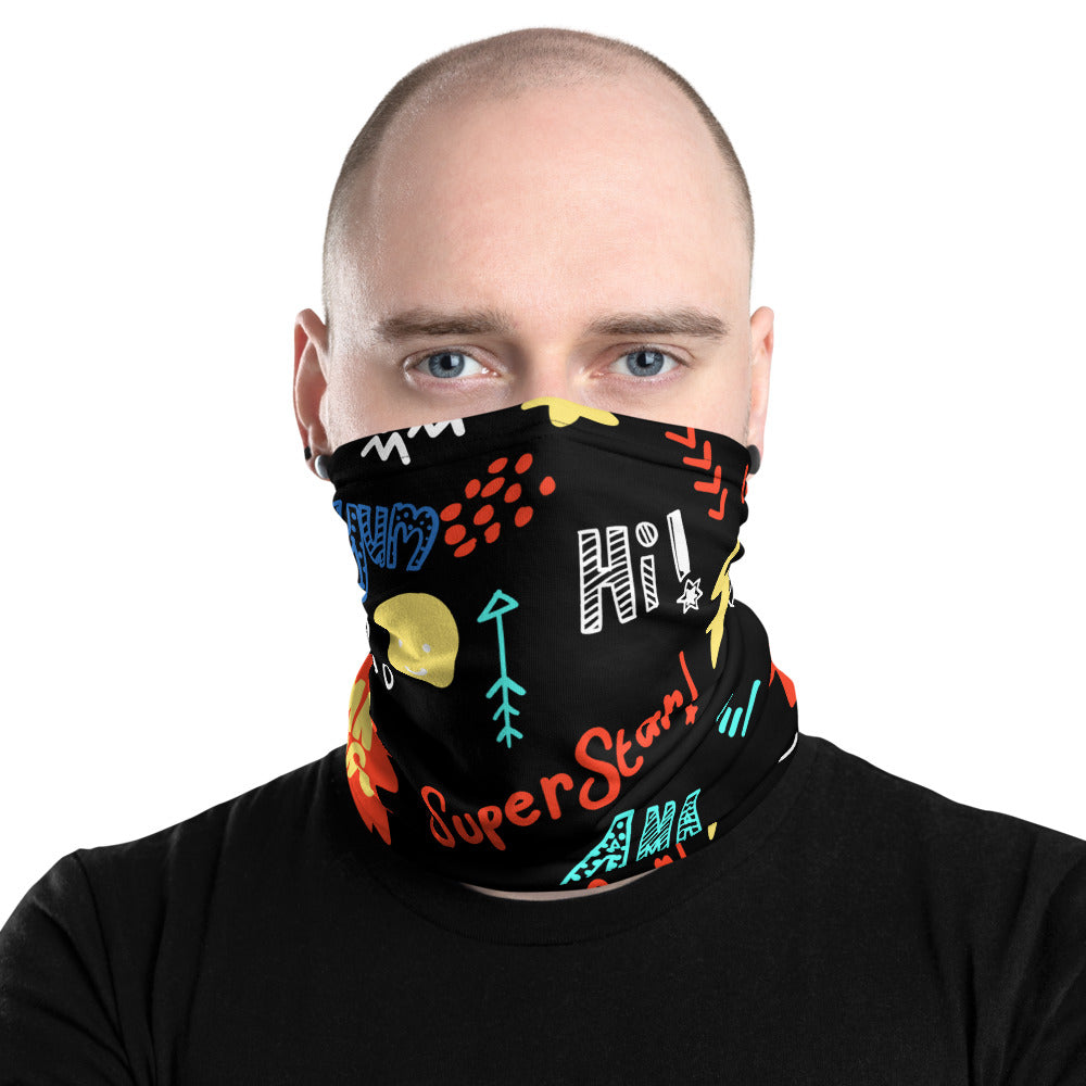 Back to School Neck Gaiter