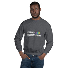 Load image into Gallery viewer, I Survived Unisex Sweatshirt