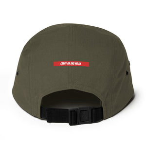 Tote and Lounge Five Panel Cap