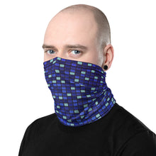 Load image into Gallery viewer, Digital Blue Neck Gaiter