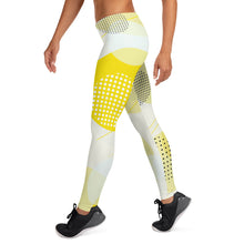 Load image into Gallery viewer, Metro Yellow Leggings