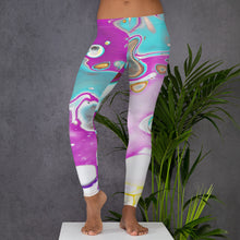 Load image into Gallery viewer, Marble Multi Leggings