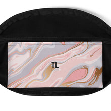 Load image into Gallery viewer, Pink Marble Fanny Pack
