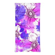 Load image into Gallery viewer, Watercolor Poppy Neck Gaiter