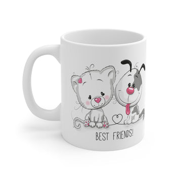 Best Friends High-Quality Printed Mug 11oz