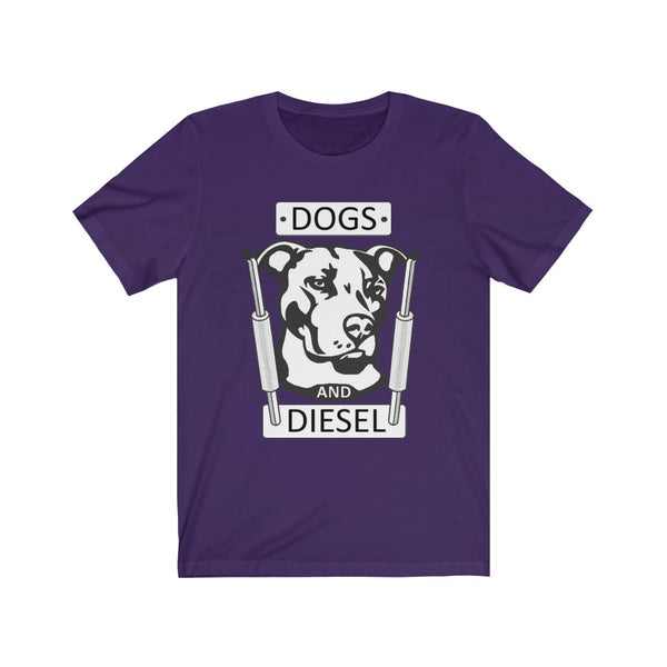 Dogs And Diesel Unisex Jersey Short Sleeve Tee