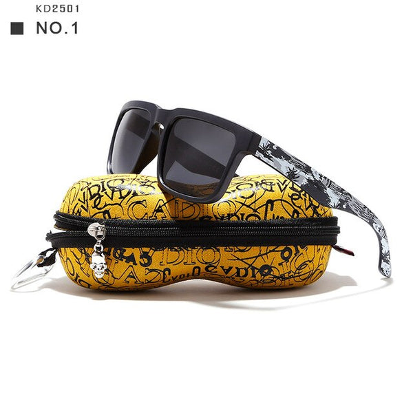 KDEAM Eye-catching Function Polarized Sunglasses Sun Glasses With Case 12 Styles