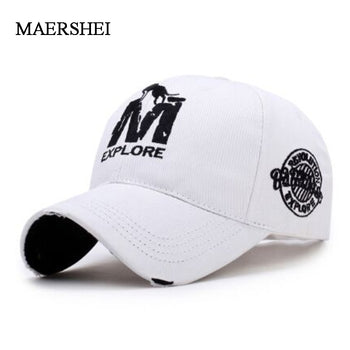 MAERSHEI Fashion Embroidered Baseball Cap Men Sports Hat Ladies Visor