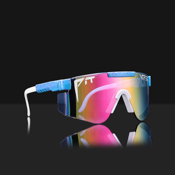 Pit Viper Shield Sunglasses Enhanced Sun Glasses Lens 10 Styles