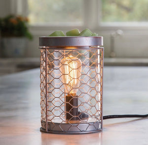 Edison Bulb Wax Melt Warmer (Chicken Wire)