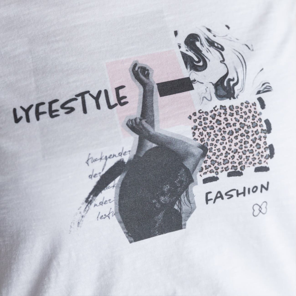 Camiseta LifeStyle Blanco