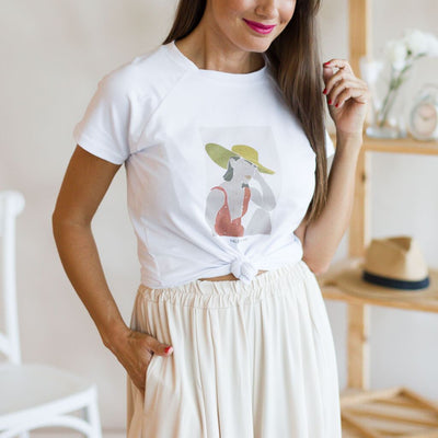 Camiseta Mathilde Blanco