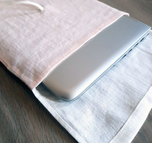 Laptop sleeve, case, cover - Linen Couture Boutique
