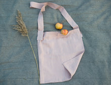 Load image into Gallery viewer, Pale Pink linen crossbody bag - Linen Couture