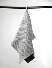 Load image into Gallery viewer, Navy Blue waffle linen towel - Linen Couture