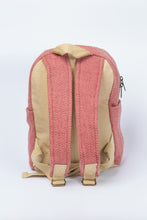 Load image into Gallery viewer, Small pastel pink hemp bagpack - Linen Couture Boutique