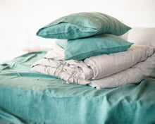 Load image into Gallery viewer, Softened linen duvet cover - Linen Couture Boutique